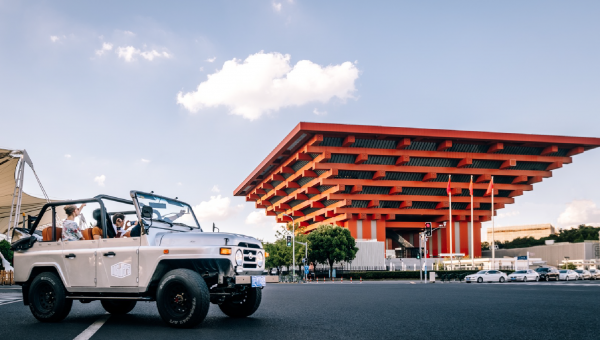 The Modern Architecture Ride by jeep