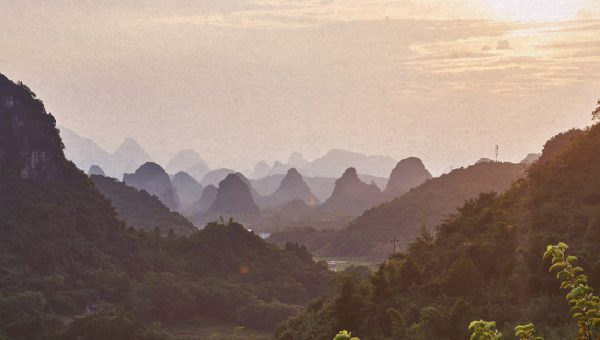 The idyllic landscapes of Guilin